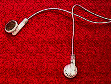 MP3 earbuds
