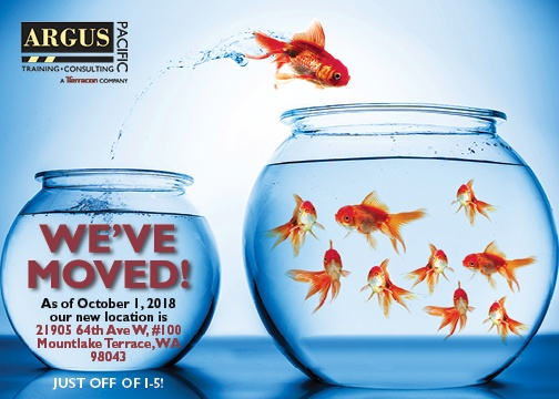 Argus Pacific is moving!
